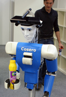 Cognitive Service Robot Cosero at German Open 2011