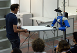 RoboCup@Hoime 2011 Final: Cosero carrying a table together with a person