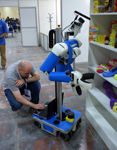 Domastic service robot Cosero learns the objects