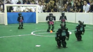 RoboCup 2008 Final: NimbRo vs. Team Osaka